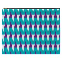 Peaks Pattern Cosmetic Bag (xxxl)