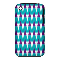 Peaks pattern Apple iPhone 3G/3GS Hardshell Case (PC+Silicone)