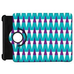 Peaks patternKindle Fire HD Flip 360 Case