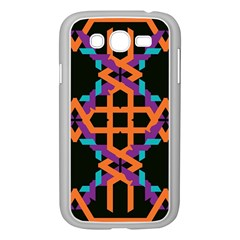 Juxtaposed shapes Samsung Galaxy Grand DUOS I9082 Case (White)