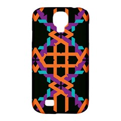 Juxtaposed shapes Samsung Galaxy S4 Classic Hardshell Case (PC+Silicone)