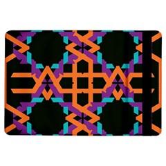 Juxtaposed Shapesapple Ipad Air Flip Case