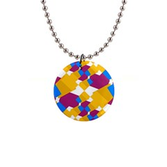 Layered shapes 1  Button Necklace