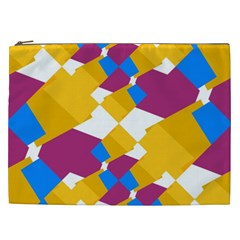 Layered shapes Cosmetic Bag (XXL)