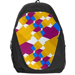 Layered shapes Backpack Bag