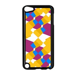 Layered shapes Apple iPod Touch 5 Case (Black)