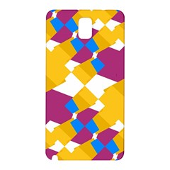 Layered shapes Samsung Galaxy Note 3 N9005 Hardshell Back Case