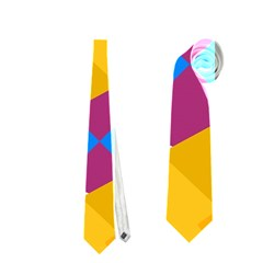 Layered Shapes Necktie