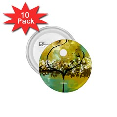 She Open s to the Moon 1.75  Buttons (10 pack)