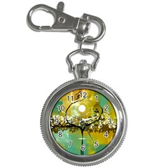 She Open s to the Moon Key Chain Watches