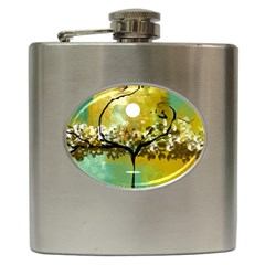 She Open s to the Moon Hip Flask (6 oz)