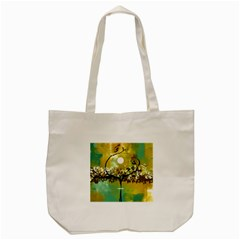 She Open s to the Moon Tote Bag (Cream)