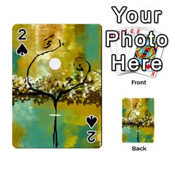 She Open s To The Moon Playing Cards 54 Designs