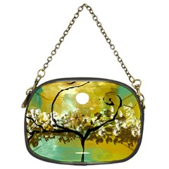 She Open s to the Moon Chain Purses (Two Sides)