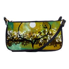 She Open s to the Moon Shoulder Clutch Bags