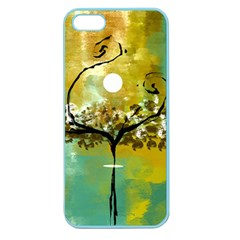 She Open s To The Moon Apple Seamless Iphone 5 Case (color)