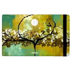 She Open s to the Moon Apple iPad 3/4 Flip Case