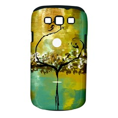 She Open s to the Moon Samsung Galaxy S III Classic Hardshell Case (PC+Silicone)