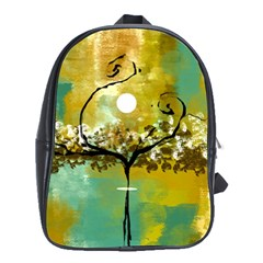 She Open s To The Moon School Bags (xl)