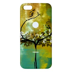 She Open s to the Moon iPhone 5S Premium Hardshell Case