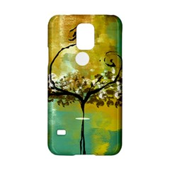She Open s to the Moon Samsung Galaxy S5 Hardshell Case