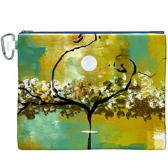 She Open s to the Moon Canvas Cosmetic Bag (XXXL)