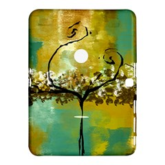 She Open s To The Moon Samsung Galaxy Tab 4 (10 1 ) Hardshell Case