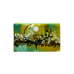 She Open s To The Moon Cosmetic Bag (xs)