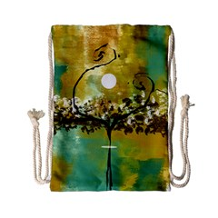 She Open s to the Moon Drawstring Bag (Small)