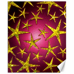 Star Burst Canvas 16  x 20