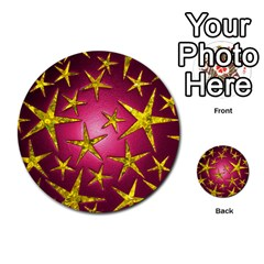 Star Burst Multi-purpose Cards (Round)
