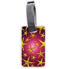 Star Burst Luggage Tags (Two Sides)