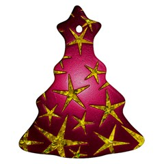 Star Burst Christmas Tree Ornament (2 Sides)