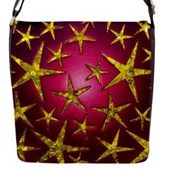 Star Burst Flap Messenger Bag (s)