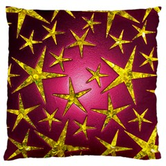 Star Burst Standard Flano Cushion Cases (One Side)