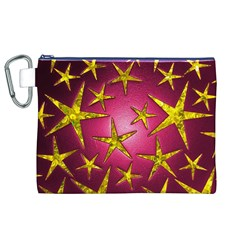 Star Burst Canvas Cosmetic Bag (XL)