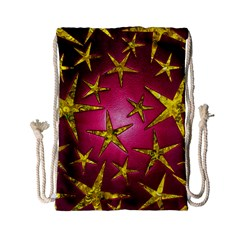 Star Burst Drawstring Bag (Small)