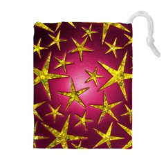 Star Burst Drawstring Pouches (extra Large)