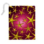 Star Burst Drawstring Pouches (Extra Large) Back