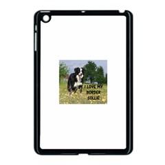 Border Collie Love W Picture Apple iPad Mini Case (Black)