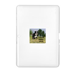 Border Collie Love W Picture Samsung Galaxy Tab 2 (10.1 ) P5100 Hardshell Case