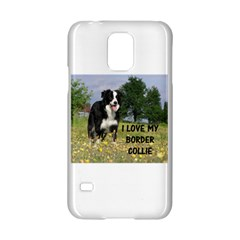 Border Collie Love W Picture Samsung Galaxy S5 Hardshell Case