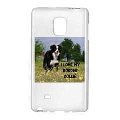 Border Collie Love W Picture Galaxy Note Edge