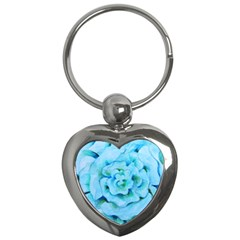 Blue Flower Key Chains (heart)