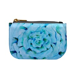 Blue Flower Mini Coin Purses