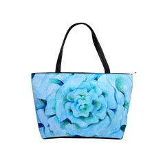 Blue Flower Shoulder Handbags