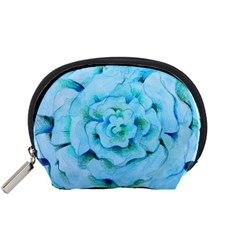 Blue Flower Accessory Pouches (Small)