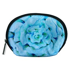 Blue Flower Accessory Pouches (Medium)