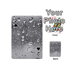 Water Drops 4 Playing Cards 54 (mini)