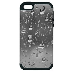 WATER DROPS 4 Apple iPhone 5 Hardshell Case (PC+Silicone)